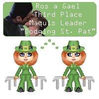 Here's to the Irish rose!